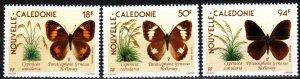 New Caledonia #626-8  MNH CV $6.05 (X7165)