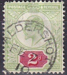 Great Britain #130 F-VF Used CV $22.50   (A10631)