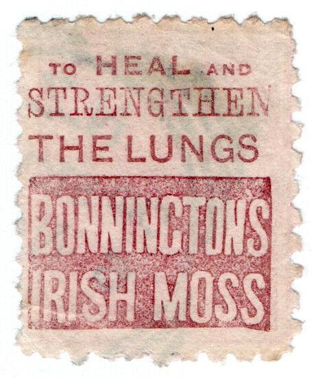 (I.B) New Zealand Postal : Adson (Bonnington's Irish Moss)