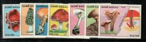 Guinea-Bissau Scott 765-71 Mint NH (Catalog Value $38.00)