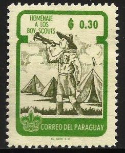 Paraguay 1962 Scott# 641 MH