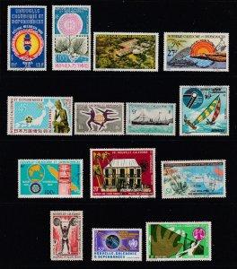 New Caledonia a small lot of decent cv items