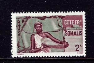 Somali Coast 257 MH 1947 issue