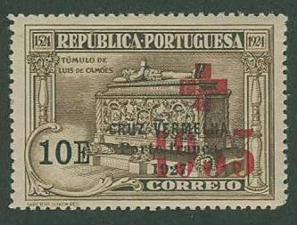 Portugal SC# 1S 59 Tomb of Camoens Overprinted