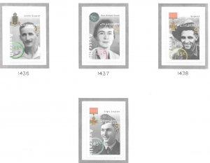 Australia #1436-1439 Famous Australians from WW ll (MNH) SA CV $6.40