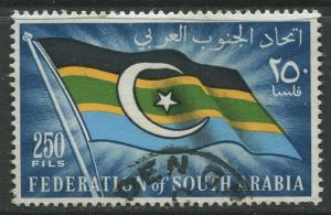 STAMP STATION PERTH South Arabia #14 Definitive Issue 1965 Used  CV$1.40