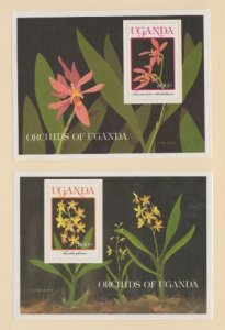 Uganda Scott #755-756 Stamps - Mint NH Souvenir Sheet