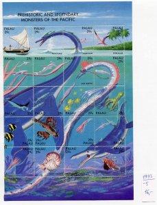266604 PALAU 1993 stamps dinosaurs