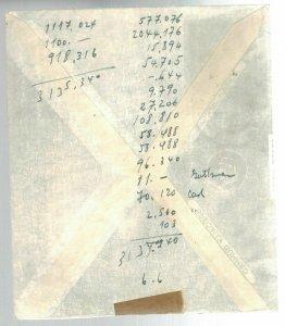 1948 Haifa Israel Palestine Shemen Oil Industry Cover Local Use Sales