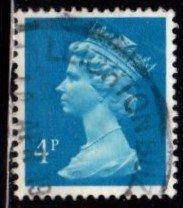 Great Britain - #MH43 Machin Queen Elizabeth II - Used