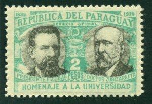 Paraguay 1940 #O101 MH SCV (2018) = $0.50