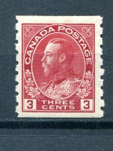 Canada #130   Mint VF  lightly hinged   Lakeshore Philatelics