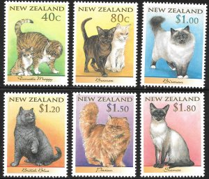New Zealand # 1484 - 89 Mint Never Hinged
