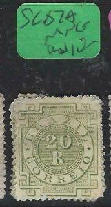 BRAZIL  (P0907BB)  SC 87A   MNG