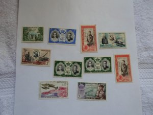 MONACO STAMPS LOT. 10 STAMPS. # 15