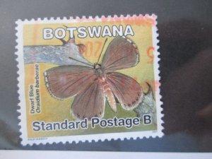 Botswana #849 used  2019 SCV = $0.55