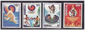 Senegal - Olympic Games on Stamps - 4 Stamp  Set  - 786-9
