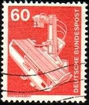 X-Ray Machine, Germany stamp SC#1176 Used