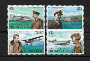Niuafo'ou Scott 90-93 set mint never hinged nice color !scv $15+ see pic !