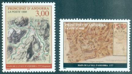 Andorra - French #500-501  MNH  Scott $10.00