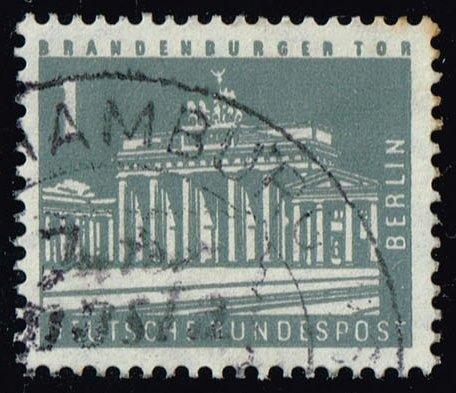 Germany #9N120 Brandenburg Gate; Used (0.25)