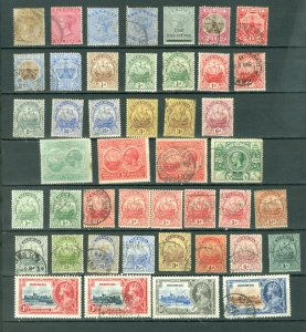 BERMUDA EARLY LOT of 44...MINT/USED...$175.00