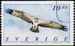 Sweden. 2002 10k S.G.2198  Fine Used