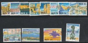 Malta, Sc 783-794, MNH