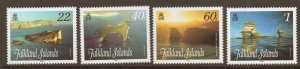 FALKLAND ISLANDS SG1112/5 2008 STACKS & BLUFFS MNH