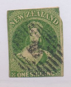New Zealand Stamp Scott #15d, Used - Free U.S. Shipping, Free Worldwide Shipp...