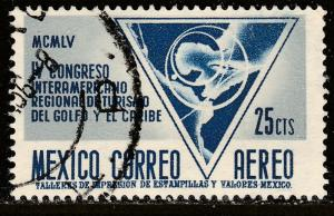 MEXICO C238, Tourism Congr of Gulf of Mexico & Caribbean USED. F-VF. (104)
