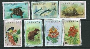GRENADA SG761/7 1976 FLORA AND FAUNA MNH