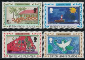 Virgin Islands #816-9* NH CV $14.15  Christmas 1995