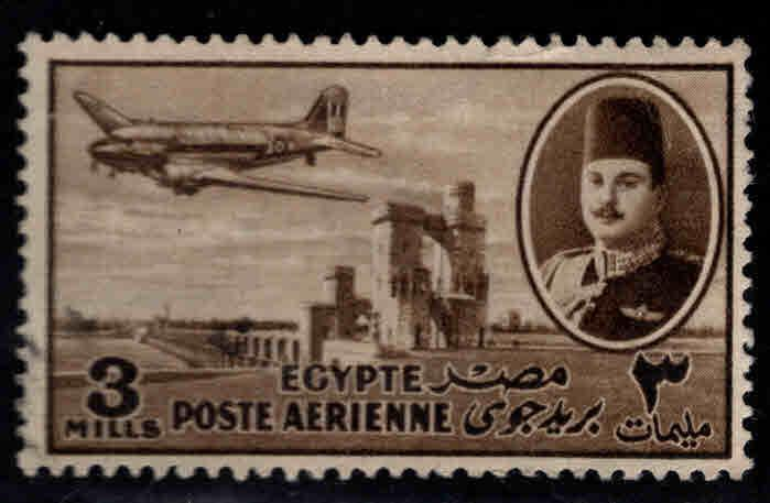 EGYPT Scott C40 Used airmail airplane