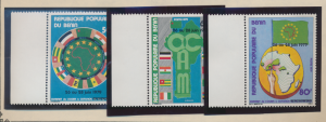 Benin Stamps Scott #434 To 436, Mint Never Hinged - Free U.S. Shipping, Free ...