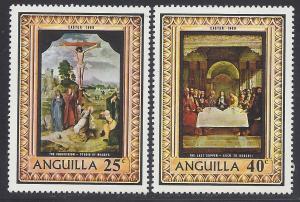 Anguilla #68-69 Cpl Set of 2 1969 Mint LH