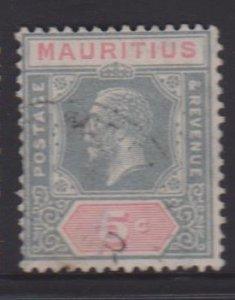 Mauritius Sc#184 Used