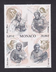 Monaco  #2160  MNH  2000  the Four Evangelists