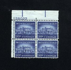 USA #1047   used 1954-1968 PD .20