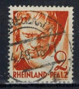 Germany - French Occupation - Rhine Palatinate - Scott 6N30