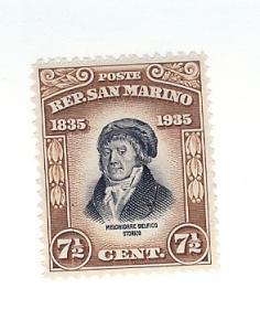 San Marino, 170, Melchiorre Delfico Single, LH