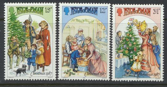 Isle of Man - SG 358-360  SC# 344-346  MUH Christmas