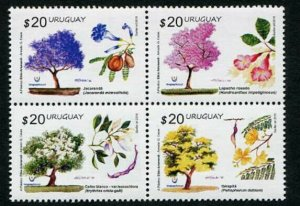 HERRICKSTAMP NEW ISSUES URUGUAY Sc.# 2568 Spring 2016 - Trees