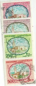 Kuwait #364-367 ( U)  CV $5.60