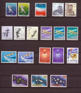 1978 - SAN MARINO - Complete year set - Scott #922 and others - MNH**