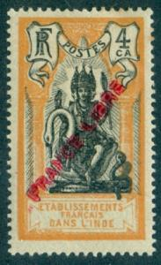 French India #119  Mint  Scott $13.50