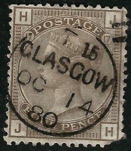 Great Britain #71 Used Fine Corner Fault SC$475...Low start Bid!
