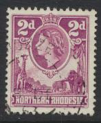 Northern Rhodesia  SG 64 SC# 64  Used - see details