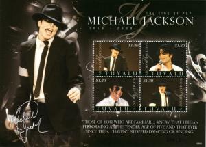 Tuvalu Scott 1088 (2009: Michael Jackson)