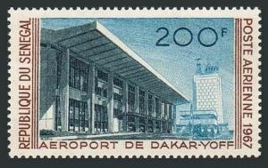 Senegal C52,MNH.Michel 354. Dakar-Yoff Airport,1967.